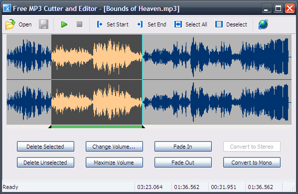 Free MP3 Cutter and Editor (Portable) 2.6.0.1764 full
