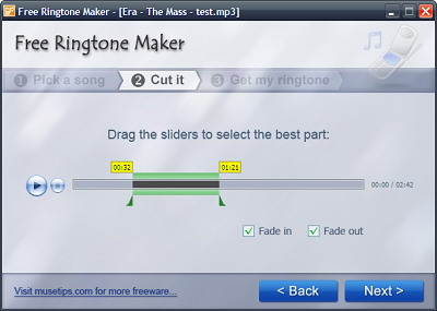 Make Your Own Ringtone - Step 2